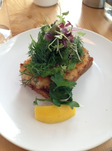 Crispy Fried Fish with a Terrific Herb Sauce @ Amaans-Copenhagen